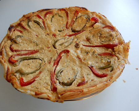 Pita s papriko in hrenom